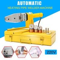 220V 8Pcs Electric Hot Welding Machine Heating Tool PPR PE PP Tube Pipe Welding Machine Electric Welding Tool Accessories