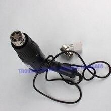 Eléctrica Pistola de aire caliente Pistola de Aire Caliente 1500 W Boquilla de Metal de Doble Temperatura Ajustable Eléctrico Herramientas Eléctricas + enchufe de Europa