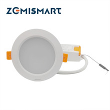 Latest Arrival ZigBee RGBW Downlight Compatible With Hue Bridge 1.0 and 2.0 Remote Control by App