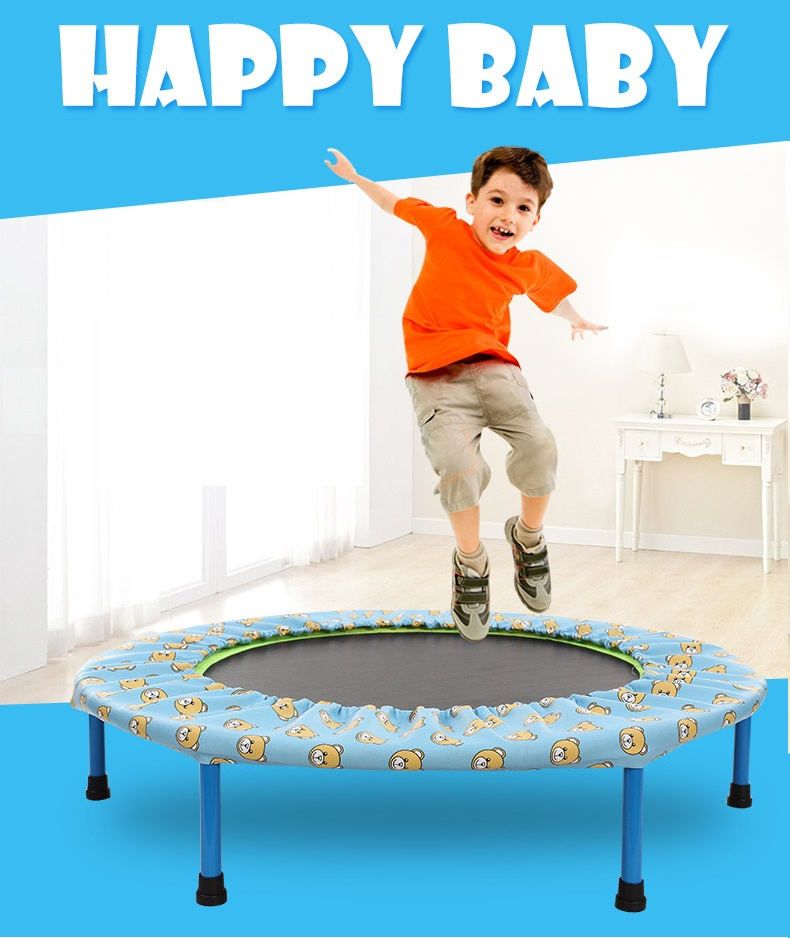 Children's Trampoline Adult fitness slimming beauty Folding household Indoor outdoor toys for children Ribbon bungee jumping цена