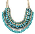 6 Colores Para Mujer Hecho A Mano Borla de Multinivel Cuerda Perlas Collares Declaración de Bohemia Collar Collares de La Joyería Para Los Regalos