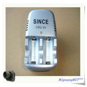 CR2 1 pcs 3 V Lithium battery charger 3.6 V rechargeable battery chagrer