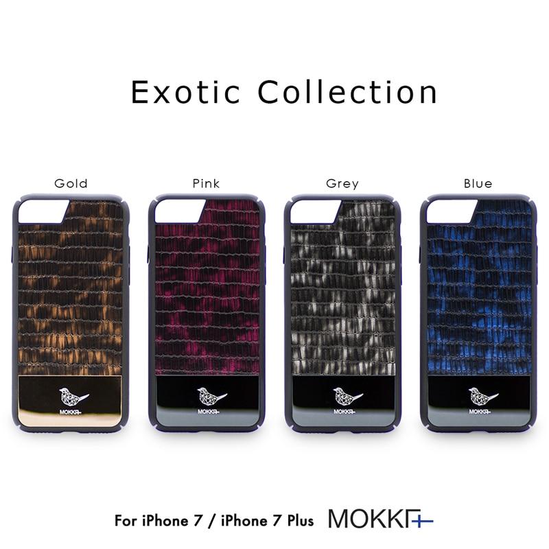 עבור iPhone 7 7 טלפון דפוס בתוספת עור לטאה יוקרה מקרה מקורי מוקה אקזוטי מתכת אוסף מוסיקה אופנה מגמה חזרה כיסוי