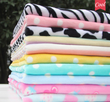 DIY Baby blanket pajamas Thickening Flannel Velvet Fabrics tissue felt bed sheet cloth dolls bedding Pajamas