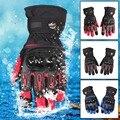 New Winter Warm Motor Gloves Motorcycle Glove Cycling Motorbike Long Cuff Windproof Motocross