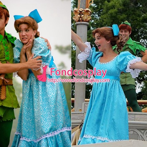 Peter Pan Wendy dress costume Cosplay Tailor-made [G1778]  sc 1 st  AliExpress.com & Peter Pan Wendy dress costume Cosplay Tailor made [G1778]-in Boys ...