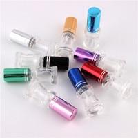 XYZ 9Colors 5ml Mini Empty Glass Spray Perfume Bottle Small Atomizer Parfum Bottles Atomizing Spray Liquid