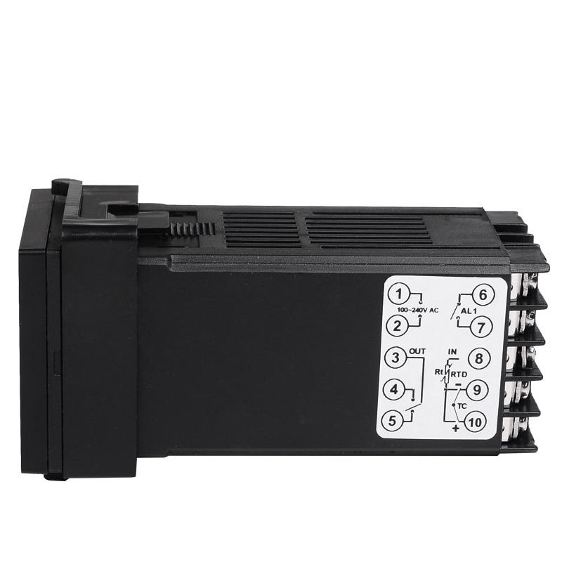 48 * 48 mm-es digitális hőmérséklet-szabályozó termosztát K / - Mérőműszerek - Fénykép 5