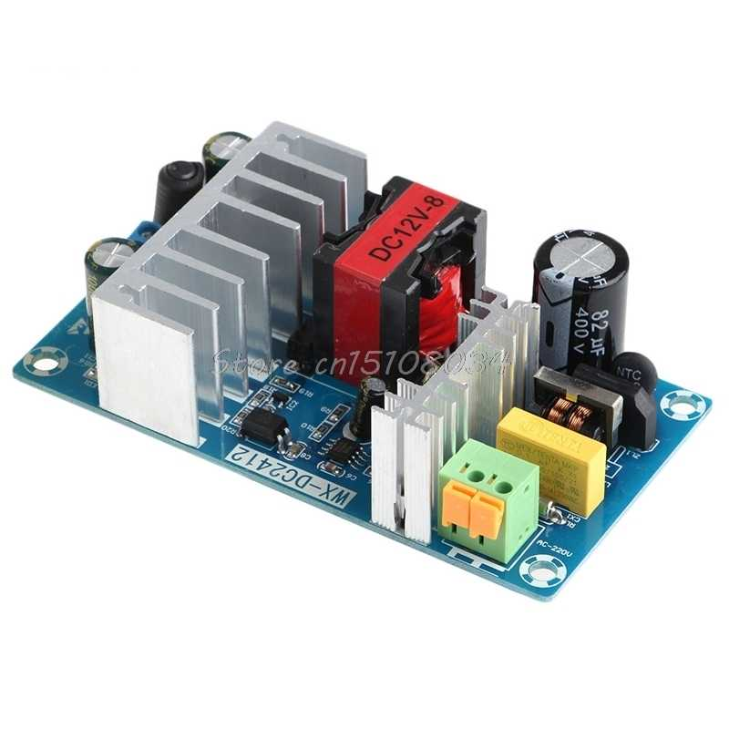 New 6A-8A Unit For 12V 100W Switching Power Supply Board AC-DC Circuit  Module S08 Drop ship