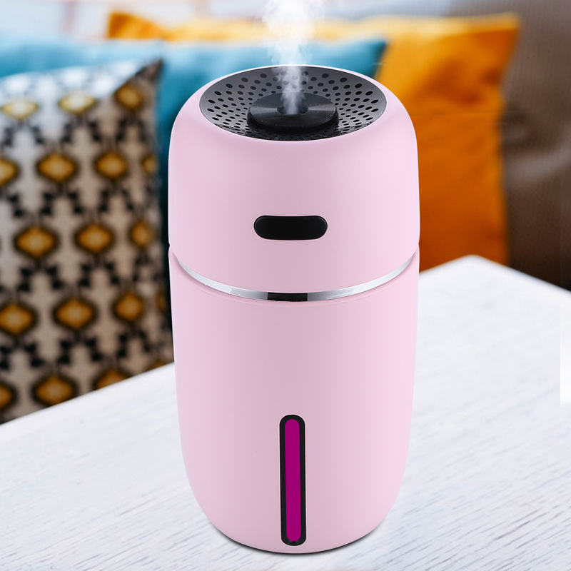 Humidifier Parts Colorful Lights Aromatherapy Humidifier Mini Usb Air Humidifier Ortable Ultrasonic Mist Micron Fogging Aroma Essential Diffuser Home Appliances
