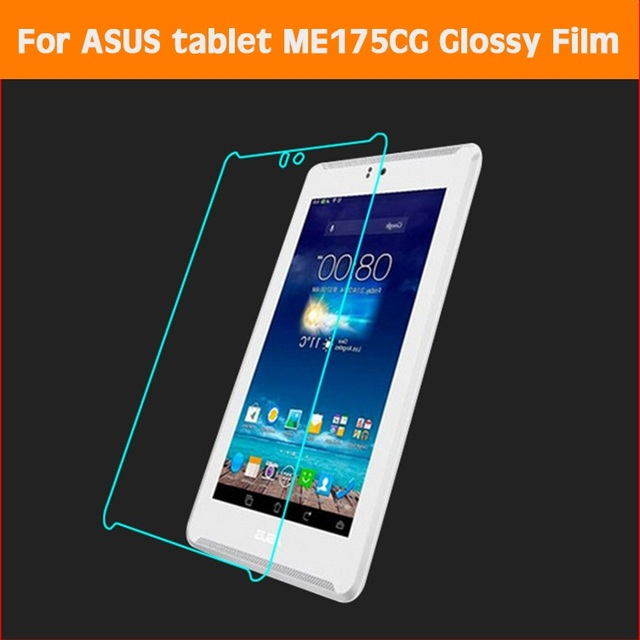 Front HD Clear Glossy screen protector film For Asus Fonepad 7 ME175CG 7 0