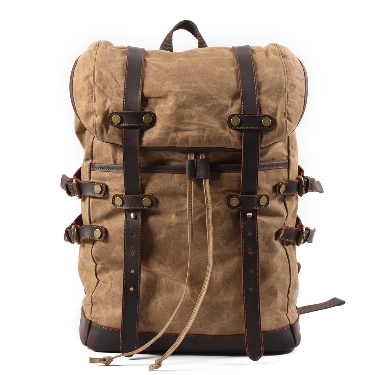 Raged Sheep Men Laptop Backpack Canvas Casual Waterproof Simple Flap Pocket School Backpack Bag for Boy Girl Male Travel Mochila casual waterproof simple men backpack