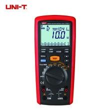 UNI-T UT505B Handheld Digital Insulation Resistance Tester Megger AC/DC Voltage Measurement vc60b digital insulation resistance tester vici megger megohm meter 250v 500v 1000v high voltage and short circuit input alarm