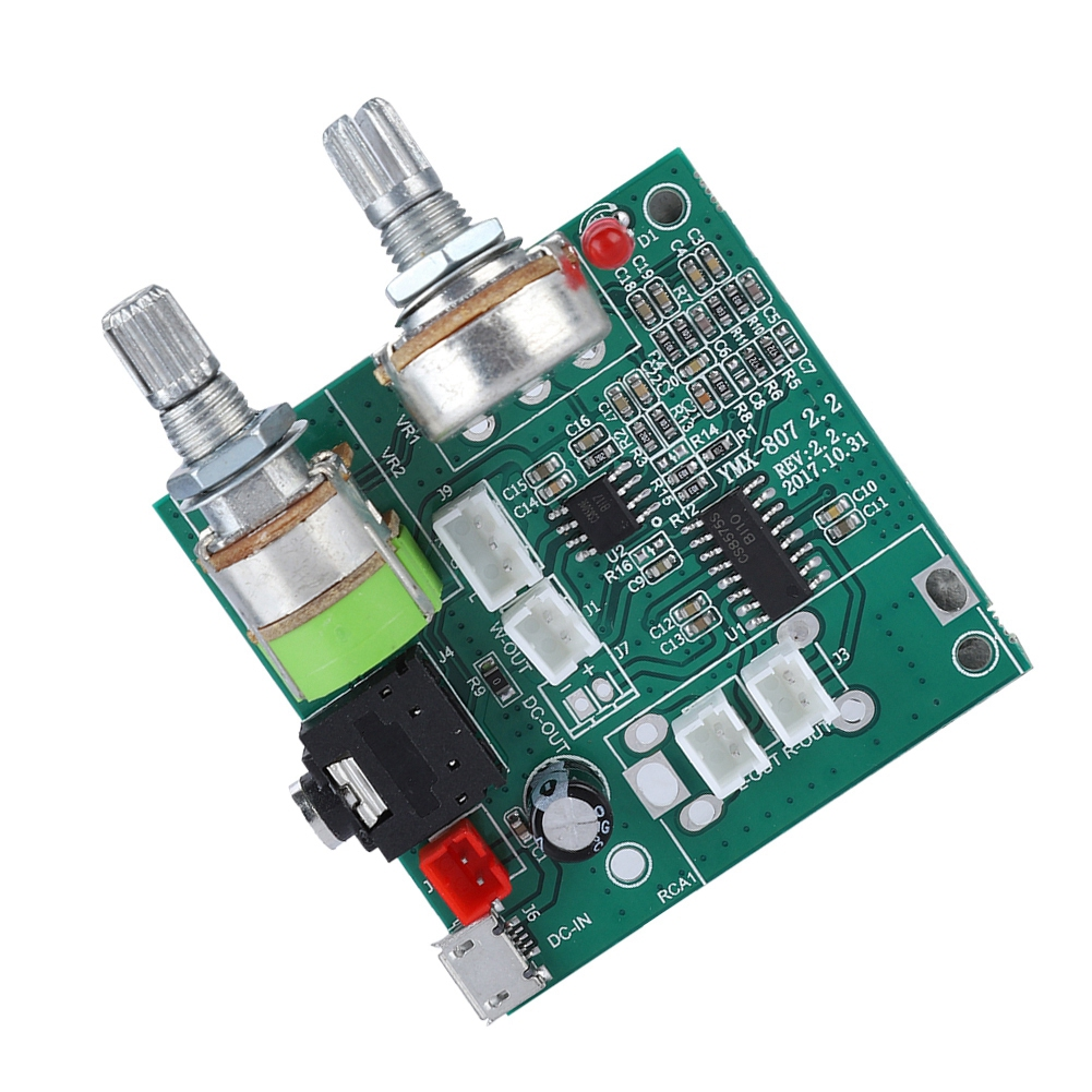 5V 20W 2.1 Dual Channel Digital Power Amplifier Board AMP Boards Amplifiers Board With Connector image