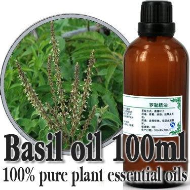 Vente en gros!! huile de soin de la peau 100% huiles essentielles végétales pures egypte importations huile de basilic Migraine maux de tête flux menstruel