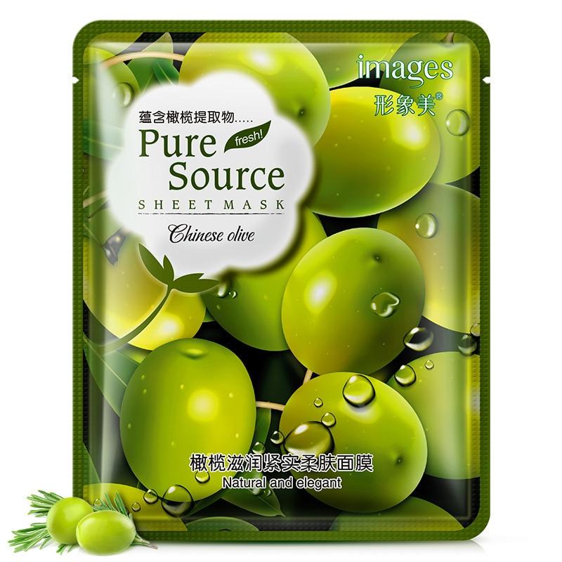 Lavender korean face mask acne Aloe Moisturizing Oil-control mask for face Cherry pomegranate Acne Treatment Facial skin care 5