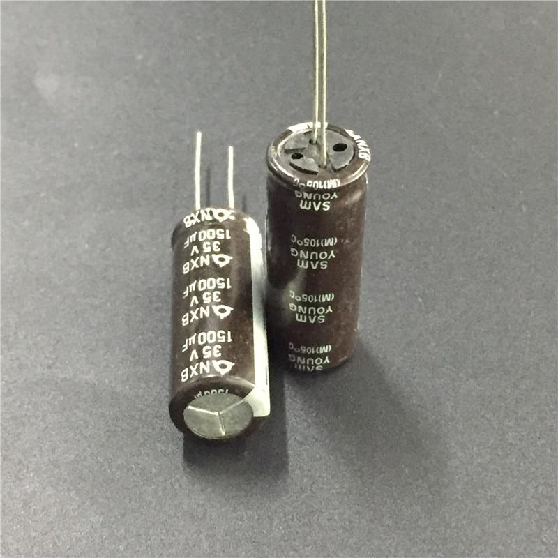 5pcs 35V 1500uF 35V SAMYOUNG NXB 12.5x33mm High quality capacitors