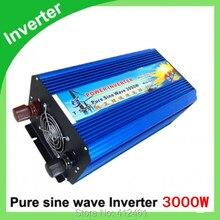 Digital Display 3000W Peak 6000W Pure Sine Wave Power Inverter 24V DC to 220V 230V 240V Off Grid Power Converter Solar System