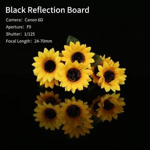 "Image 5 - 30x30 ס""מ רעיוני שחור לבן אקריליק תצוגת לוחות שולחן מוצר צילום רעיוני מט שטוח גימור רקע"