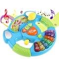 Brinquedo Volante Volante Multifunções KUNSHENG Simulado Transporte Instrumento musical Do Bebê Brinquedo Educativo