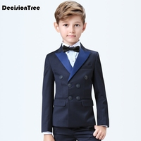 2019 new arrival boys kids blazers boy suit for weddings prom formal gray blue dress wedding boy suits