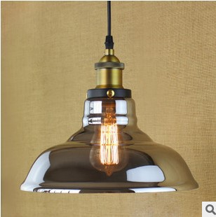 все цены на North American Loft Style Edison Industrial Vintage Pendant Lights Lamp In Glass Shade,Lustres E Pendente De Teto