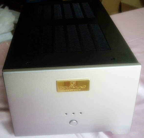 case215*140*380mm Imitation Gawain amplifier chassis/Mono amplifier chassis/After the amp chassis/Iron aluminum chassis/AMP case цена и фото