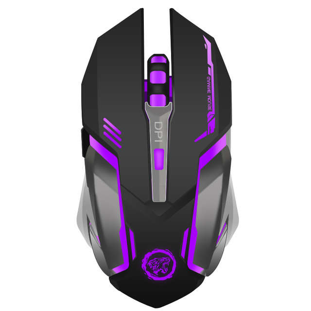 Rechargeable Wireless Gaming Mouse 7 color Backlight 1