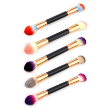 ФОТО double end makeup brushes face powder concealer blush foundation makeup brush tool