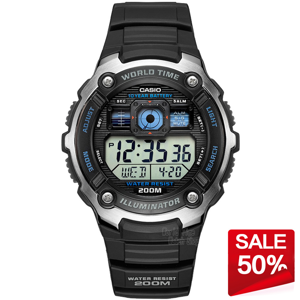 Casio Watch Outdoor Sports Waterproof font b Quartz b font font b Men s b font