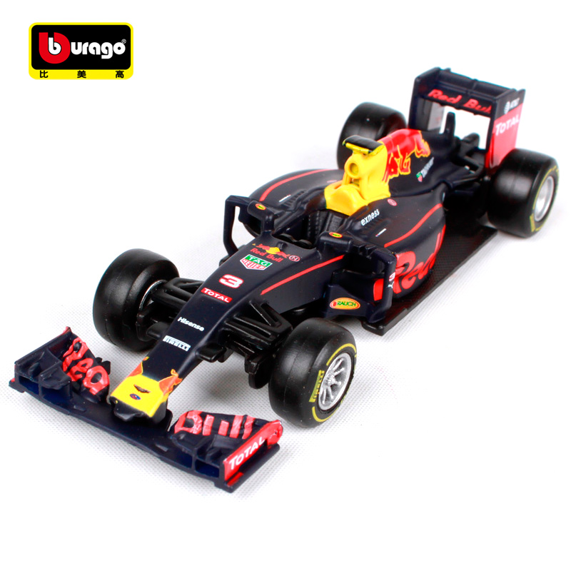 Bburago 1:43 F1 Red Bull Racing TAG Heuer RB12 RB13 Formula One Racing Diecast Model Car Toy New In Box Free Shipping