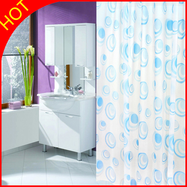 Beau Bubble Endless Bath Curtains ECO Friendly PEVA Shower Curtain Cortina  Banherio Waterproof Bathroom Window Curtains Plastic