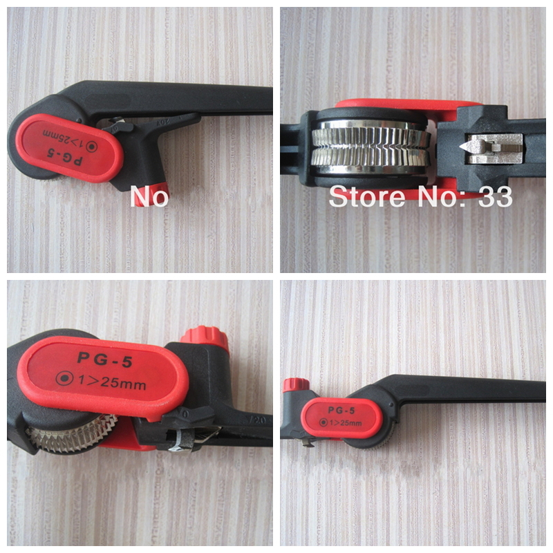 Free Shipping PG-5 Cable Knife Wire Stripper  for longitudinal circular stripping Comm/PVC/LV/MV Cablesmax 25mm good quality lbx cx121 cable stripper cable knife for stripping diameter 30mm good quality tool
