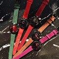 Крутые черные Кристальные часы для женщин  персонализированные граненные стеклянные часы  водонепроницаемые наручные часы из натуральной ...