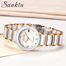 2019 New Ladies Watch Brand Luxury Women Watches Waterproof Rose Gold Stainless Steel Quartz Calendar Watch Women Montre Femme women quartz watches tungsten steel ladies watch dom luxury brand wristwatches waterproof calendar diamond woman clocks