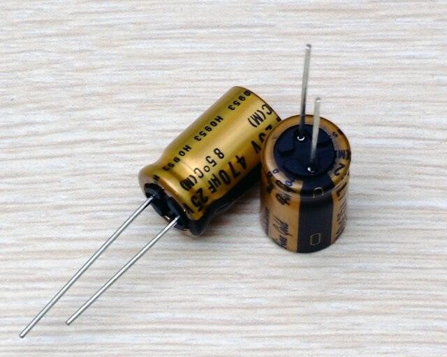 2020 Bán 10 Chiếc/30 Chiếc Mới Nguyên Bản Tiếng Nhật Nichicon Audio Điện Phân Tụ Điện FG 470Uf/25V Miễn Phí Vận Chuyển