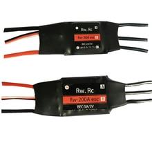 1 шт. RW. RC 2-6S 30A/50A/70A/125A/200A ESC 5 V/2A 5 V/5A UBEC Бесщеточный Регулятор скорости ESC для RC автомобиля лодки