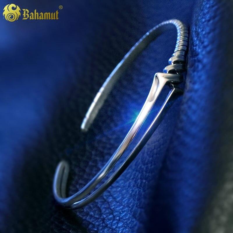 Lance de Longinus EVA 925 Bracelet en argent Sterling pour hommes femmes bijoux Costume accessoire cadeaux pour enfants amoureux Couple cadeaux