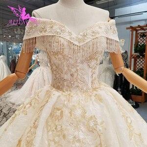 Image 4 - AIJINGYU muzułmanin suknie ślubne 2 sztuka suknie korzystnym cenowo sklepie Bridals z kolor Plus rozmiar suknia ślubna sukienka pomysły