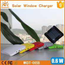 SUNEVER CE FCC ROHS permitted photo voltaic cellphone charger 2600mah cargador solar energy financial institution for all cell phone