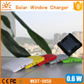 SUNEVER CE FCC ROHS approved solar phone charger 2600mah cargador solar power bank for all mobile phone