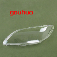 Headlight Shell Lampshade Headlamp Cover Lamp Glass For Changan Mazda 3 M3 Sedan 06 12 2pcs