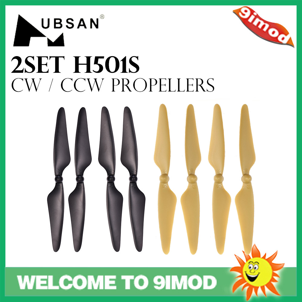 New For <font><b>Hubsan</b></font> X4 H501S Propellers CW CCW Universal for <font><b>Hubsan</b></font> <font><b>H501A</b></font> H501C H501M RC Quadcopter Drone image