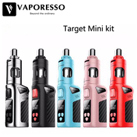Vaporesso Target Mini Kit Original 40W VW/VT 1400mah battery 2ml Guardian Tank Electronic Cigarette Target Mini Mod Battery