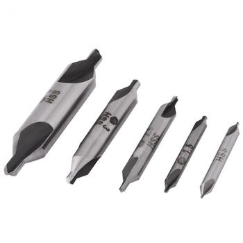 цена на WLALFRONT 10pc 1mm-5mm HSS Combined Center Drills Countersinks 60 Degree Angle Bit Set High Speed Tool Drop ship