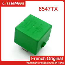 цена на LittleMoon Original brand new fan relay Fan resistor Electronic fan relay 6547TX for Peugeot 206 207 307 Citroen C2 C3