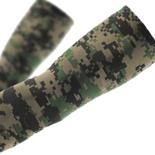 PHFU TOP COOL Sport Skin Arm Sleeve Cooling UV Cover Sun protective Stretch Armband Basketball camouflage
