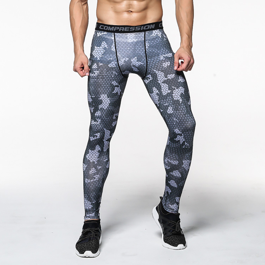 Brand Compression Pants Men Jogging Pants Fitness GYM Running Pants Tights Men Camo Sport Legging Bodybuilding Training Trousers unbranded 2015 b men pants