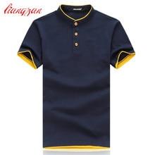 Мужские хлопковые футболки фирменный дизайн с коротким рукавом летние повседневные Большие размеры 5XL 6XL печатная версия футболки Chemise Homme Футболки F2172