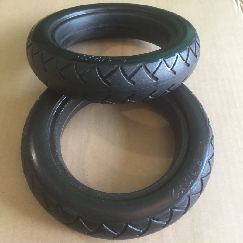 New Soft Solid Scooter Tire for Xiaomi Mijia M365 Scooter Tyre 8 1/2X2 for Electric Skateboard Avoid Pneumatic Tyre Anti-thorn